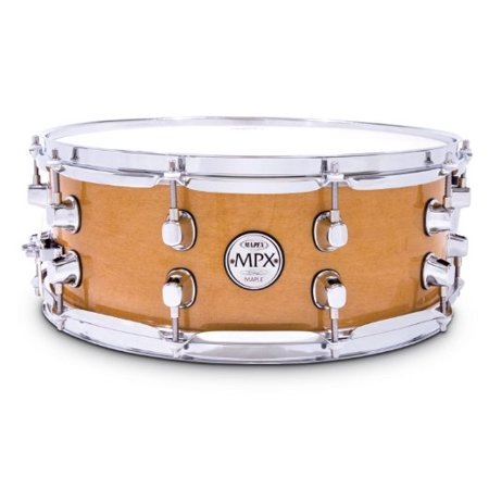Mapex MPX Series Maple Snare Drum - Gloss Natural Finish - 14
