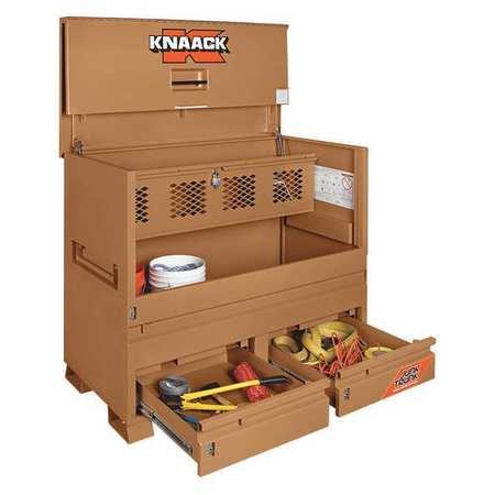 KNAACK Jobsite Piano Bx,60 in.Wx30 in.Dx49 in. 89-D