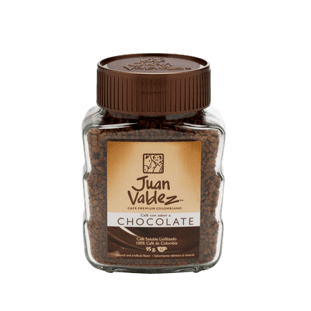 Juan Valdez 100% Colombiano Freeze Dried Coffee, Chocolate, 3.35 Ounce