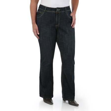 1ba3cf11440 Lee Riders - Women s Plus Plus Slender Stretch Denim - Walmart.com