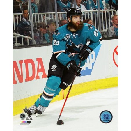 Brent Burns 2016 Stanley Cup Playoffs Action Photo -