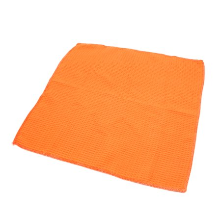 Orange Soft Home Auto Car Care Dry Washing Polishing Duster Cloth
