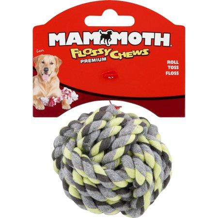 MAMMOTH MINI 2.5 INCH MONKEY FIST ROPE BALL TOY Mammoth Monkey Fist Rope