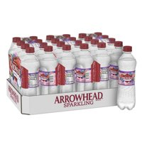 Arrowhead Sparkling Water, Triple Berry, 16.9 oz. Bottles (24 Count)