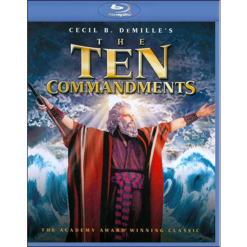 The Ten Commandments (1956) (Blu-ray) (Widescreen)