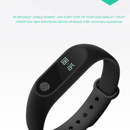 Analog M2 Smart Bracelet Synchronous Motion Meter Step Sleep Monitoring - image 2 of 5