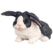 Dollhouse Rabbit Black And White
