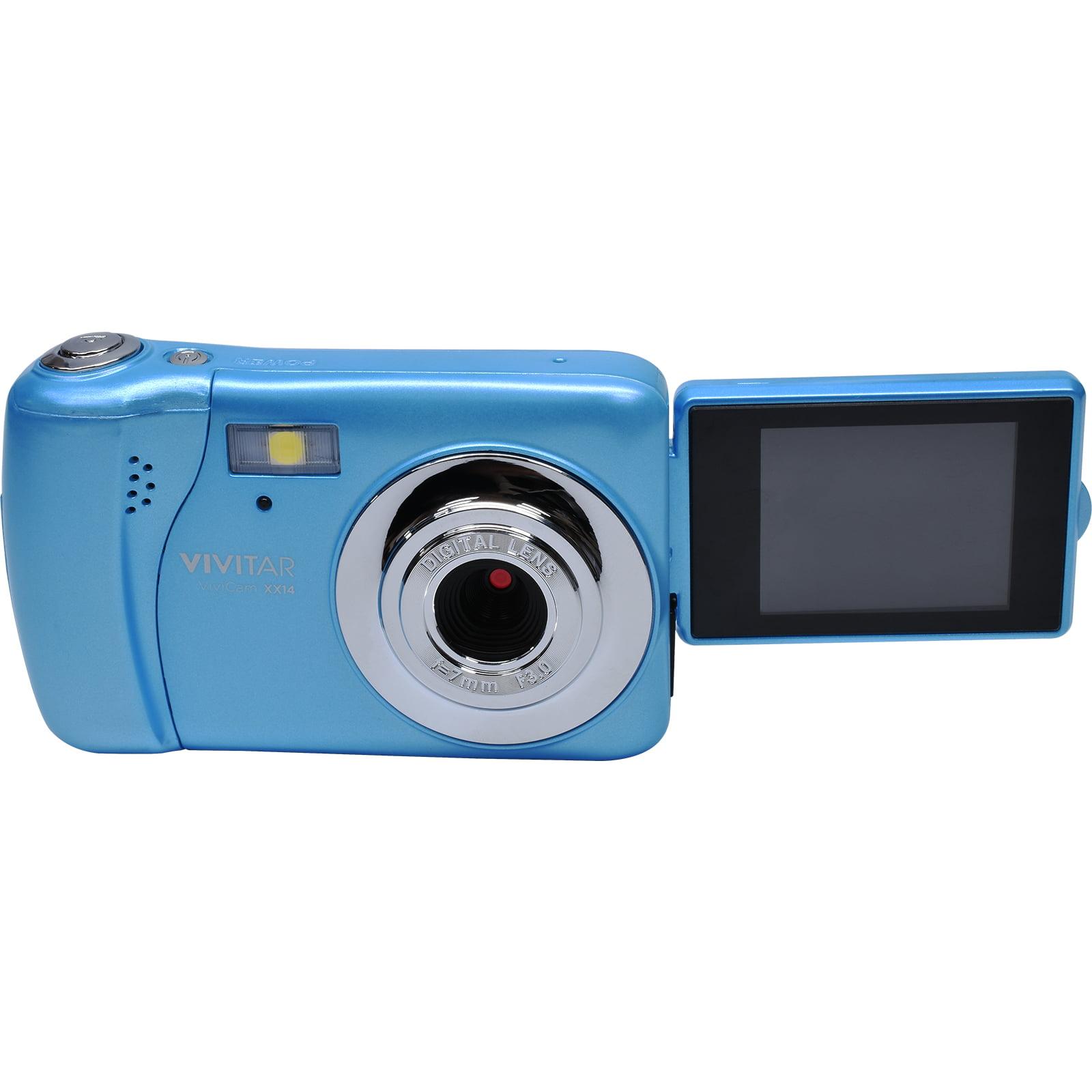 Vivitar ViviCam VXX14 Selfie Digital Camera (Blue) by Vivitar