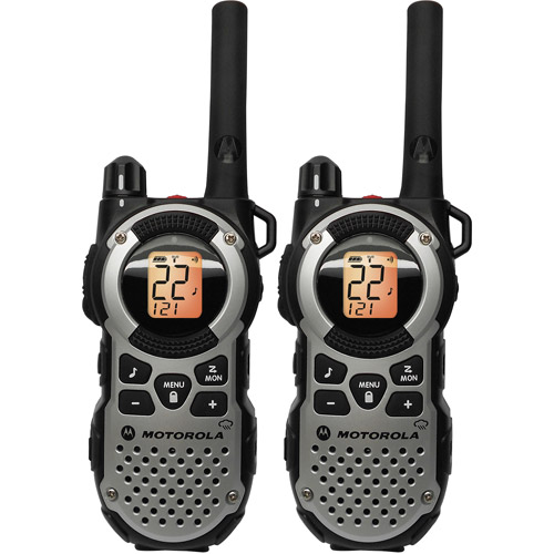 Motorola MT352R - 35 Mile Range Talkabout 2-Way Radios, PAIR