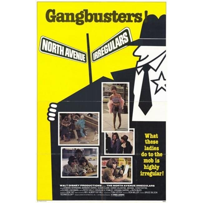 Posterazzi MOV247751 North Avenue Irregulars Movie Poster - 11 x 17 in. - image 1 of 1
