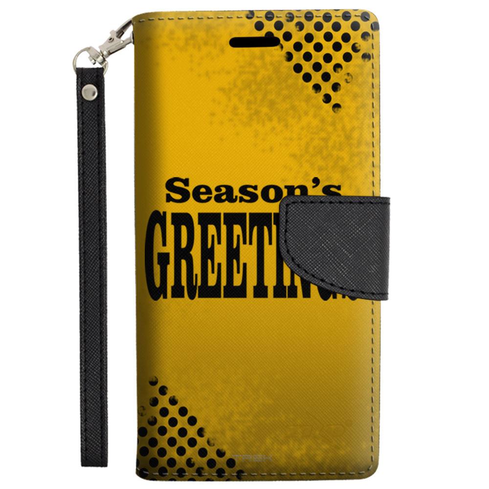 Samsung Galaxy Note 5 Wallet Case - Season's Greetings