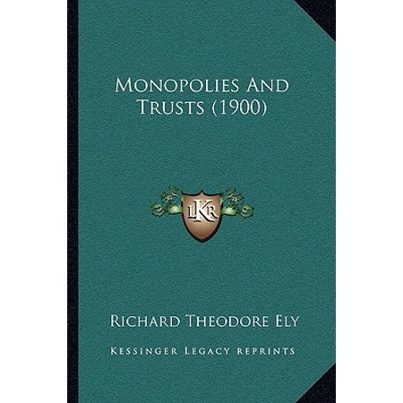 Download Monopolies, Trusts and Kartells eBook