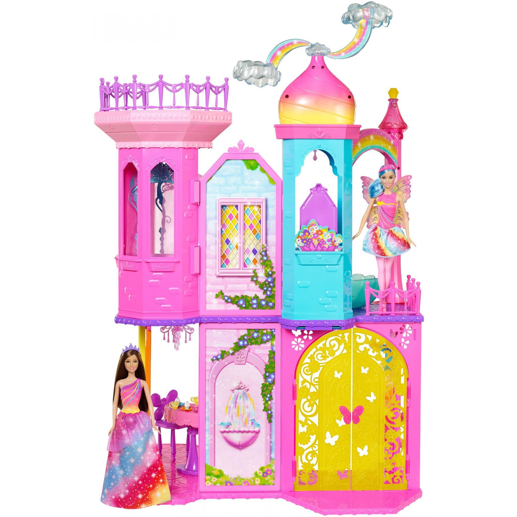 Barbie Rainbow Cove Princess Castle Playset - Walmart.com