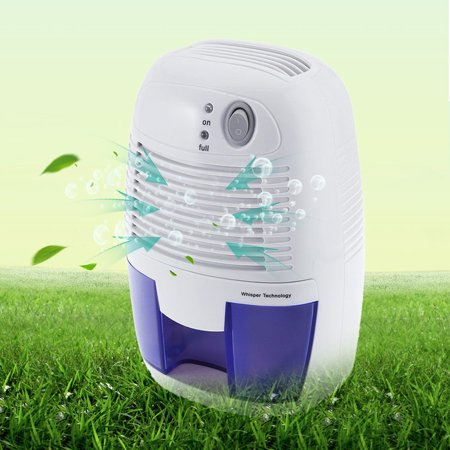 Portable Electric Mini Air Dehumidifier Home Basements Kitchen Bedroom Small Dehumidifiers Drying Moisture Absorber Low Noise Quiet Air Dryer