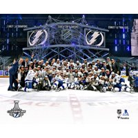 Tampa Bay Lightning Unsigned 2020 Stanley Cup Champions Team Celebration Photograph