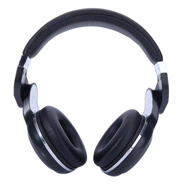 Bluedio T2 Head Mounted Handsfree Wireless Bluetooth Stereo Headphone Black Walmart Com Walmart Com