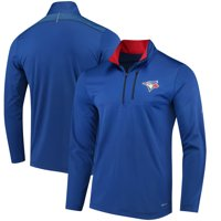 Toronto Blue Jays Majestic Half-Zip Pullover Top - Royal