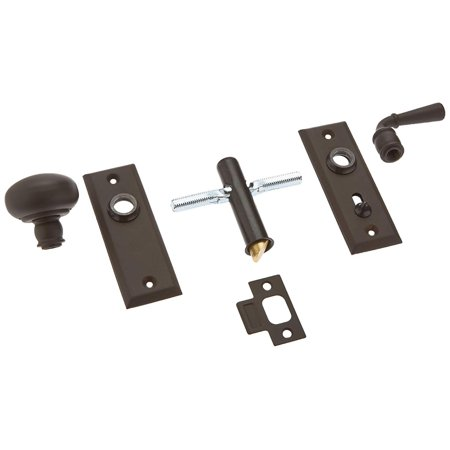 Sdls480u3 Solid Brass Storm Door Latch With Rectangular