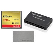 Best Compact Dslr Cameras - SanDisk Extreme 128GB CompactFlash Memory Card works Review