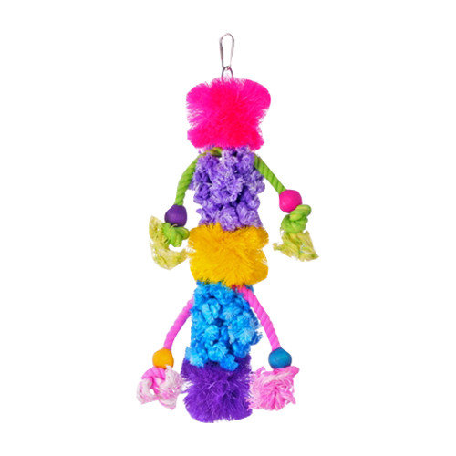 Prevue Hendryx Calypso Creations Wild-N-Wooly Large Bird Toy
