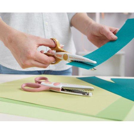 Fiskars 7317165 Paper Edger Scissors-scallop