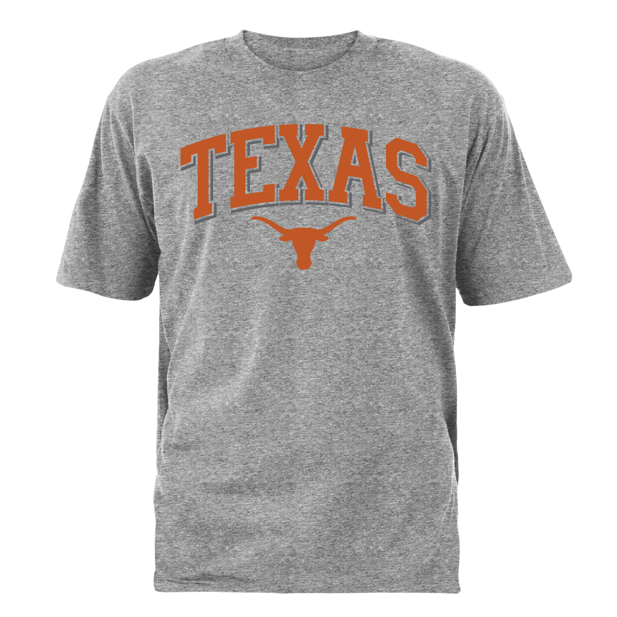 Men's Gray Texas Longhorns Tough Arch T-Shirt