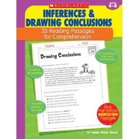 Inferences & Drawing Conclusions : Grades 4-8](Reading Passages Halloween)