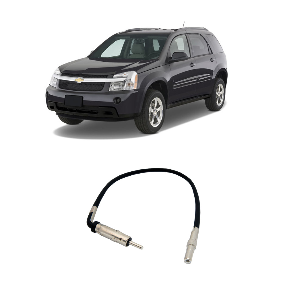 Chevy Equinox 2007-2009 Factory Stereo to Aftermarket Radio Antenna Adapter Plug