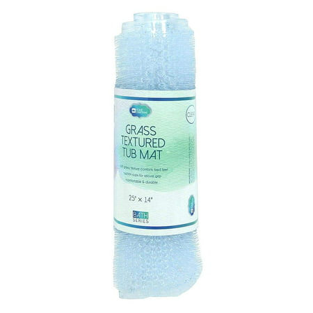 - DINY Home & Style Grass Textured Spa Quality Foot Scubber Bathroom Tub & Bath Mat Anti-Slip 25