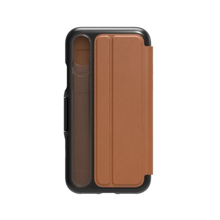 GEAR4 iPhone X/Xs D3O light tan Oxford Leather BookCase - IC8OXLVBWN - image 2 of 3