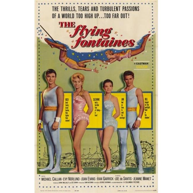 Posterazzi MOV209052 The Flying Fontaines Movie Poster - 11 x 17 in. - image 1 de 1