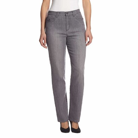 517e0a3216d Gloria Vanderbilt - Gloria Vanderbilt Women s Amanda Slimming Stretch Denim  Jeans (Glacial Grey
