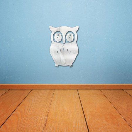 Mirrored Animal - Costyle Animal Owl Mirror Wall Stickers 21*15cm for Living Room Bedroom