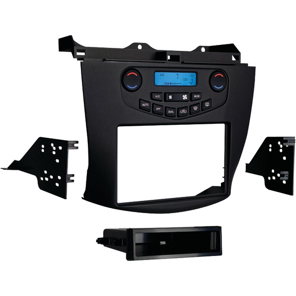 Metra Single/Double DIN Installation Kit with Display for Select 2003-07 Honda Accord Vehicles (Grey) 99-7803G