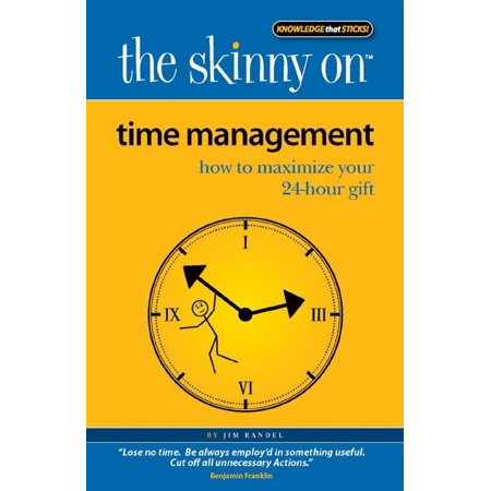 The Skinny on Time Management - eBook (Time Management Module)