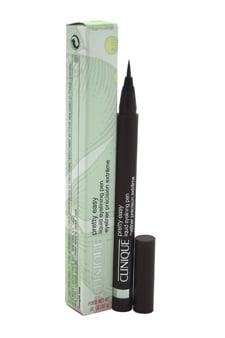 Pretty Easy Liquid Eyelining Pen - # 02 Brown Clinique 0.02 oz Eyeliner For Women