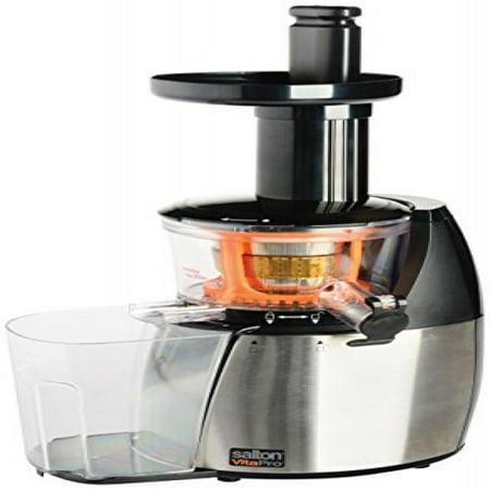Vitapro Low Speed Juicer Review : Toastess International JE1372PL vita Pro Juicer/Smoothie Maker - Walmart.com