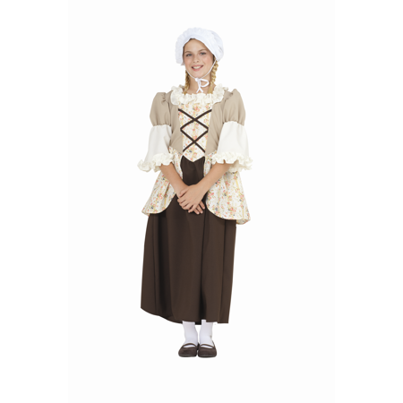 Colonial Bella Child Costume - Colonial Dress