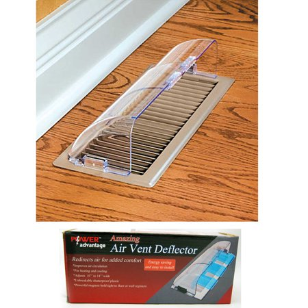 Magnetic Adjule Air Vent Deflector Heating Cooling Redirect Flow Unbreakable