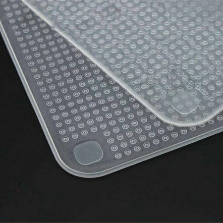 4Pcs/lot Reusable Silicone Wrap Seal Food Fresh Keeping Wrap Lid Cover - image 1 de 5