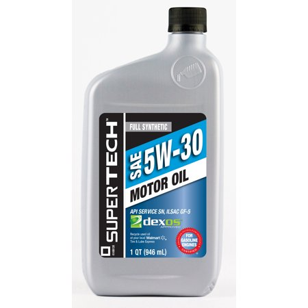 Supertech syn 5w30 q best motor oil for What is synthetic motor oil