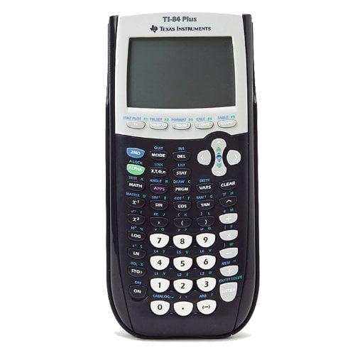 Refurbished Texas Instruments TI-84 Plus Graphing Calculator, Black
