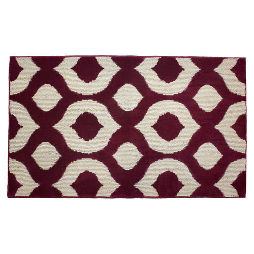 """Jean Pierre Cut and Loop Lovie 28"""" x 48"""" Textured Decorative Accent Rug by YMF Carpets Inc."""