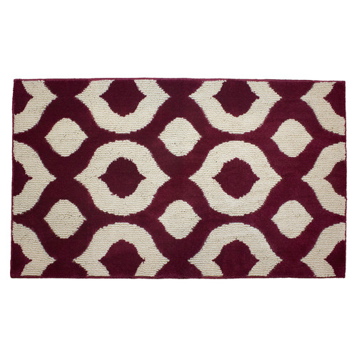 "Jean Pierre Cut and Loop Lovie 28"" x 48"" Textured Decorative Accent Rug"