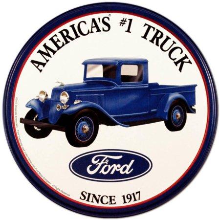 Ford Trucks Tin Sign - 12x12