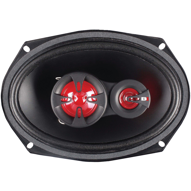 "Bass Inferno BSP69 6"" x 9"" Coaxial Speaker"