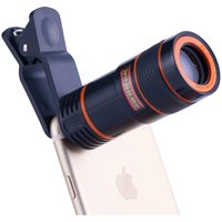 Onn Smartphone And Tablet Clip-On 8X Telephoto Lens