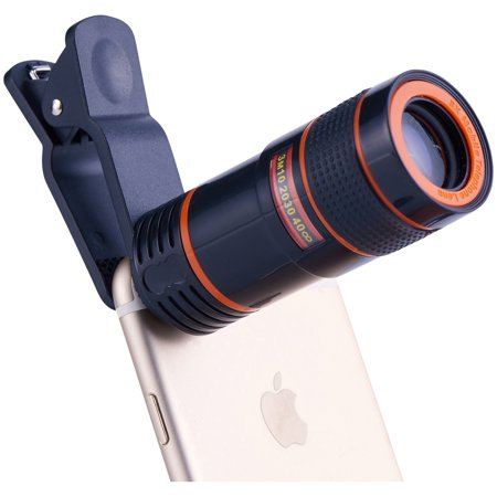 Onn Smartphone And Tablet Clip-On 8X Telephoto