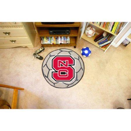 Ncaa North Carolina State College Sports Fan Team Logo Printed Home Office Decorative Soccer Ball Shaped