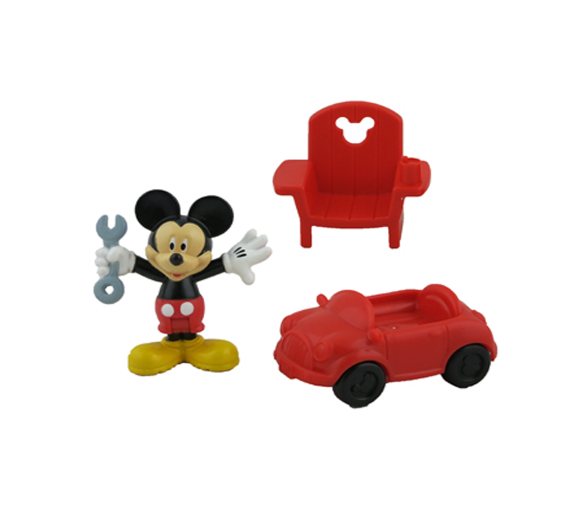 Fisher-Price Mickey Mouse Fix 'n Fun Garage Replacement Figures Mickey Car Chair